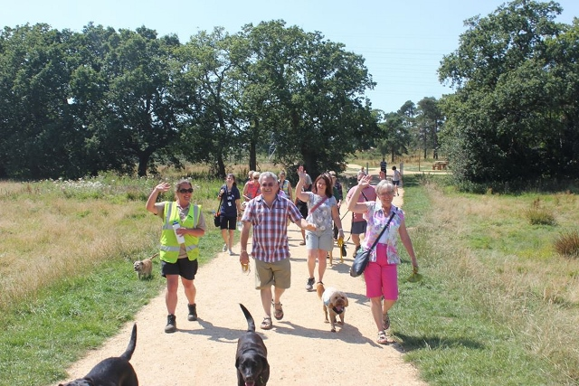guided walkies at Upton Country PArk