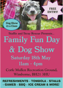 Family Fun Day Dog Show flyer