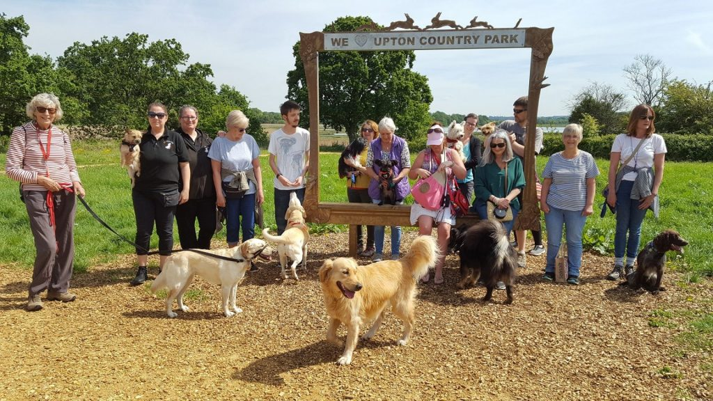 Upton Country Park group photo