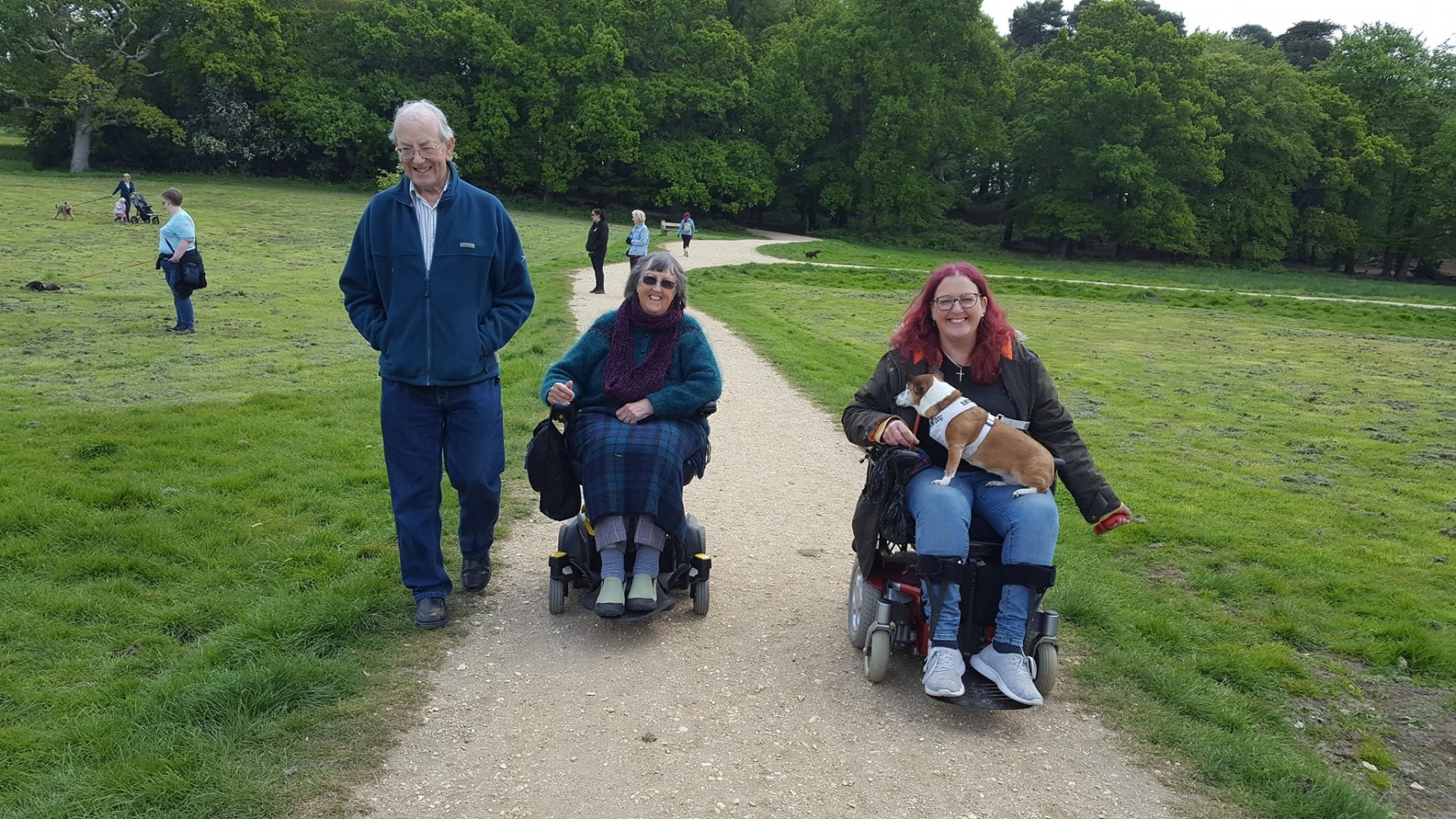 Linda & Tony at Upton Country Park